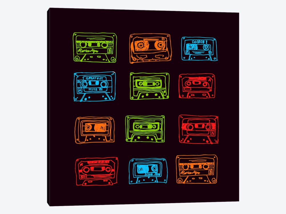 Our Mixtape by Budi Satria Kwan 1-piece Art Print