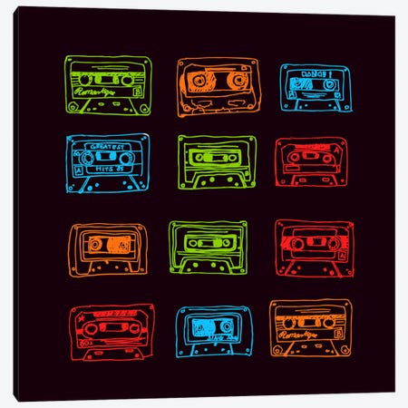 Our Mixtape Canvas Print #13820} by Budi Satria Kwan Canvas Art