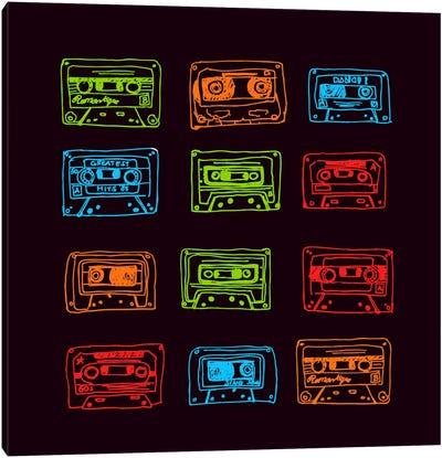 Our Mixtape Canvas Art Print