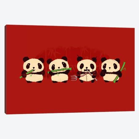 Panda 2000 Canvas Print #13821} by Budi Satria Kwan Canvas Art