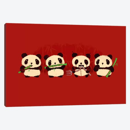 Panda 2000 Canvas Print #13821} by Budi Satria Kwan Canvas Art