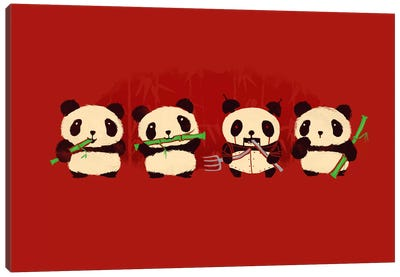 Panda 2000 Canvas Art Print