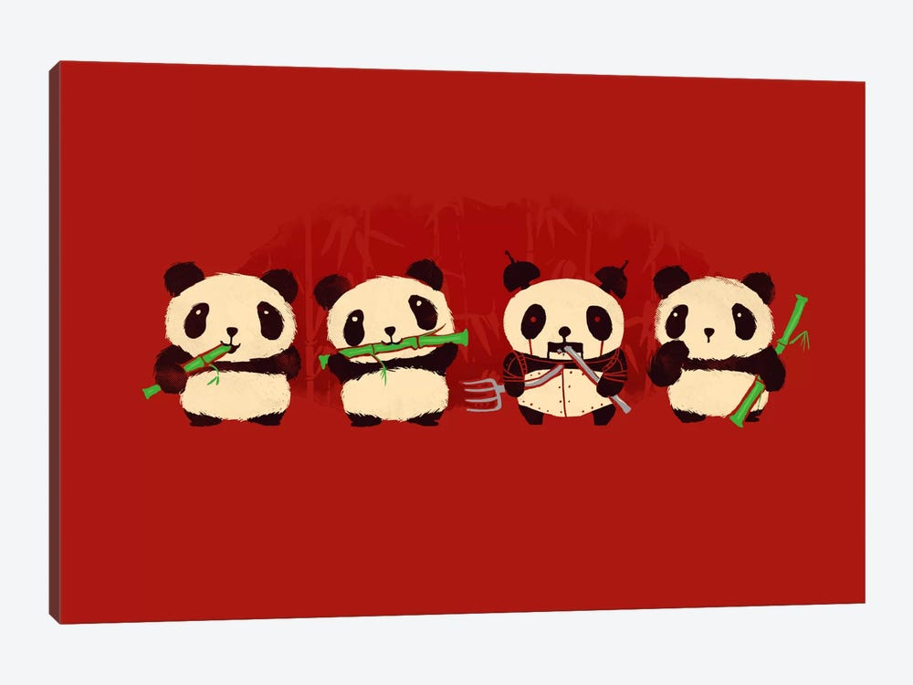 Panda 2000 by Budi Satria Kwan 1-piece Canvas Artwork