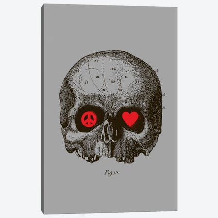 Peace & Love Canvas Print #13822} by Budi Satria Kwan Canvas Wall Art