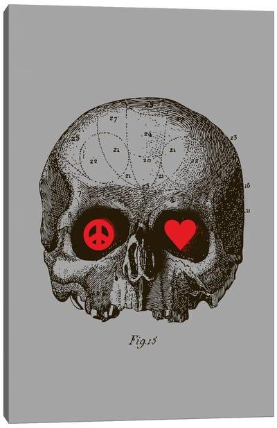 Peace & Love Canvas Art Print
