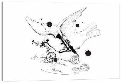 Peace Soldier Canvas Print #13823