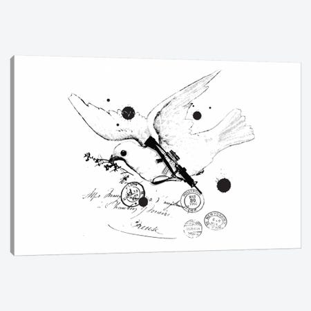 Peace Soldier Canvas Print #13823} by Budi Satria Kwan Canvas Artwork
