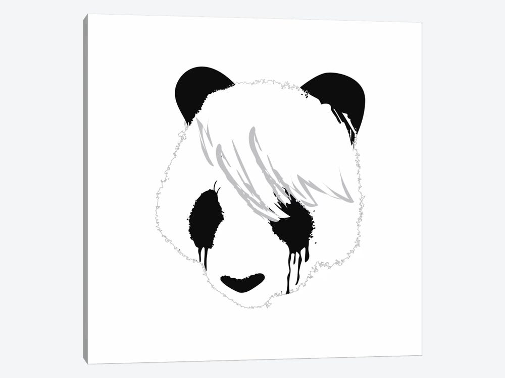 Sad Panda by Budi Satria Kwan 1-piece Canvas Artwork