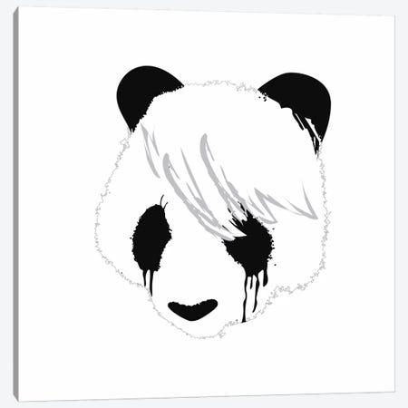 Sad Panda Canvas Print #13825} by Budi Satria Kwan Canvas Print