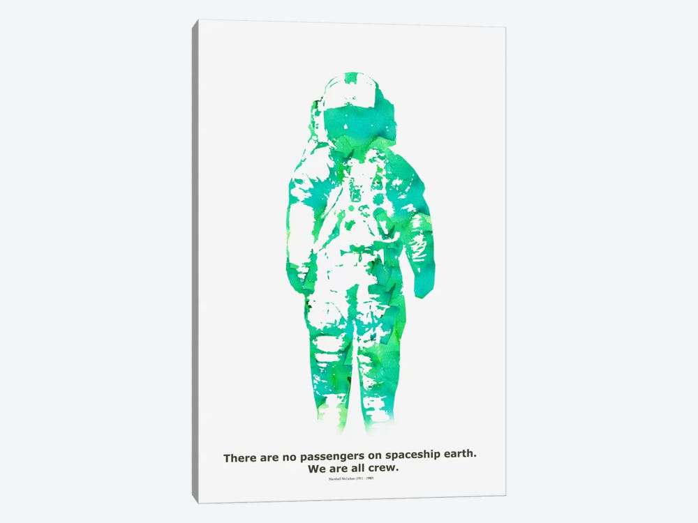 Spaceship by Budi Satria Kwan 1-piece Canvas Wall Art