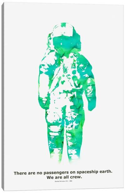 Spaceship Canvas Art Print
