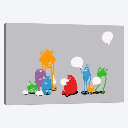 Speech Bubble Canvas Print #13831} by Budi Satria Kwan Art Print