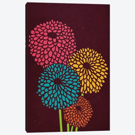 Still Life With Chrysanthemums Canvas Print #13832} by Budi Satria Kwan Canvas Print