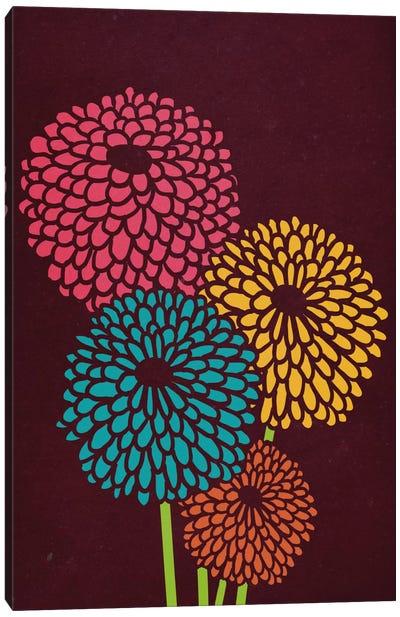 Still Life With Chrysanthemums Canvas Art Print