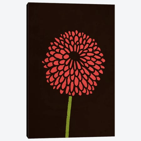 Still Life With Single Chrysanthemums Canvas Print #13833} by Budi Satria Kwan Art Print