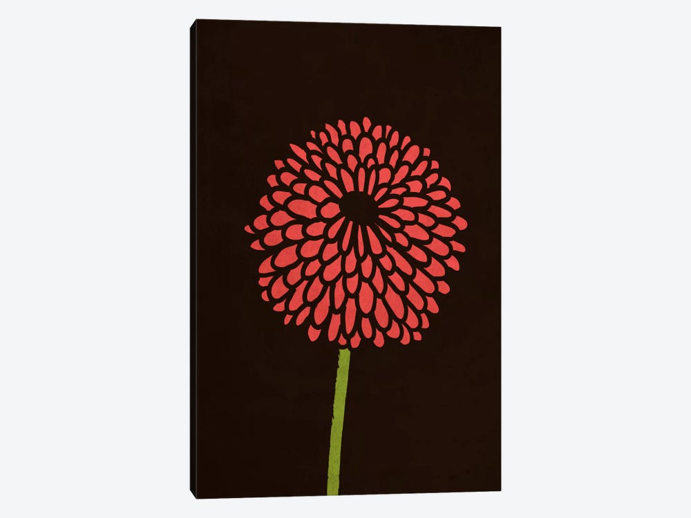 Still Life With Single Chrysanthemums by Budi Satria Kwan 1-piece Canvas Print