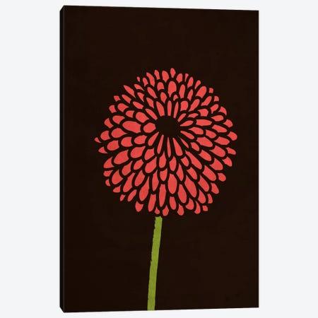 Still Life With Single Chrysanthemums Canvas Print #13833} by Budi Satria Kwan Art Print