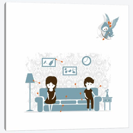 Stupid Cupid Canvas Print #13835} by Budi Satria Kwan Canvas Art