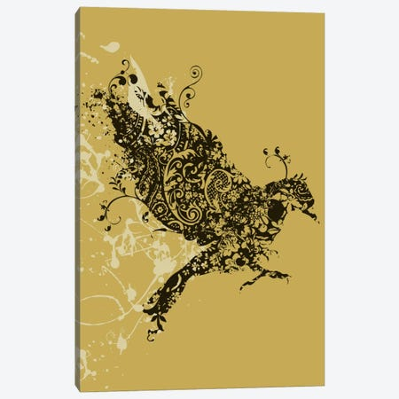 Tattooed Bird Canvas Print #13838} by Budi Satria Kwan Art Print