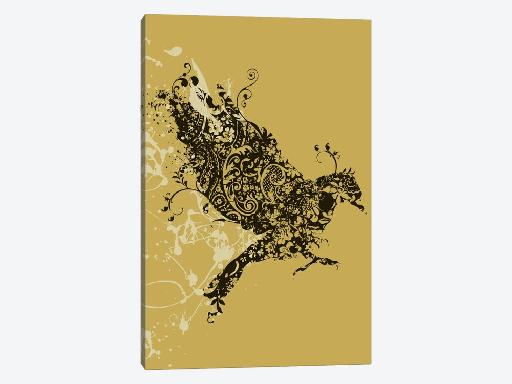 Tattooed Bird by Budi Satria Kwan 1-piece Canvas Artwork