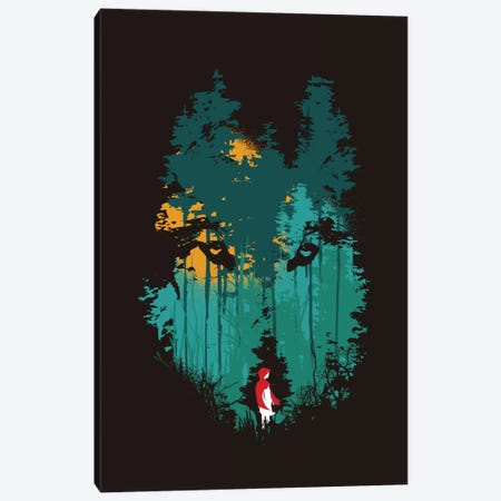 The Wood Belongs To Me Canvas Print #13840} by Budi Satria Kwan Canvas Artwork