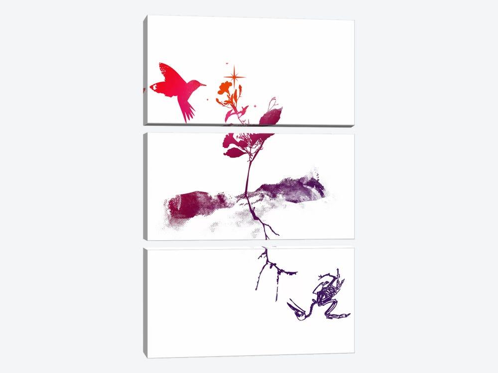 Two Worlds by Budi Satria Kwan 3-piece Canvas Print