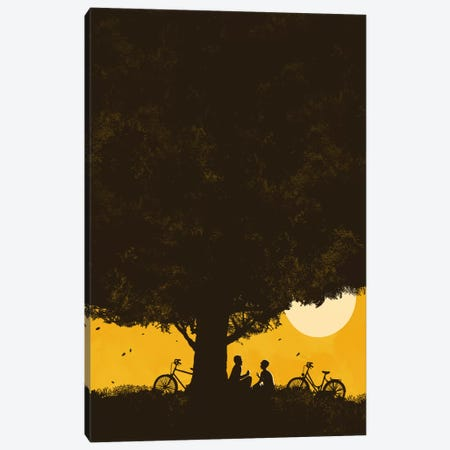 Under Giant Oak Tree Canvas Print #13843} by Budi Satria Kwan Canvas Art