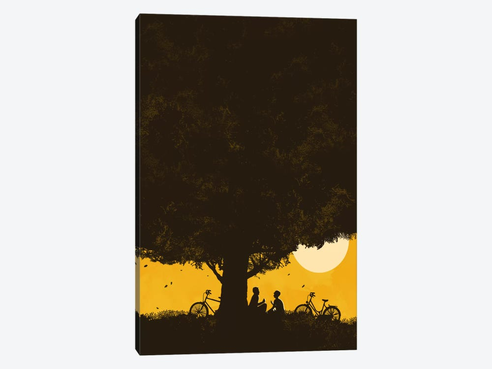 Under Giant Oak Tree by Budi Satria Kwan 1-piece Canvas Artwork
