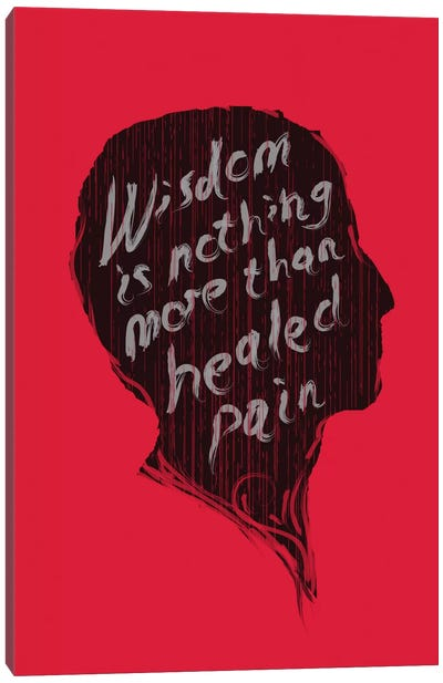 Wisdom Canvas Art Print