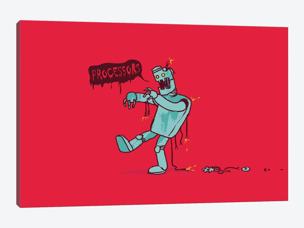 Zoombot by Budi Satria Kwan 1-piece Canvas Artwork