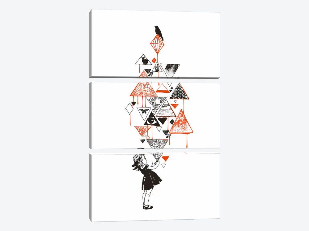 Diamond by Budi Satria Kwan 3-piece Canvas Art Print