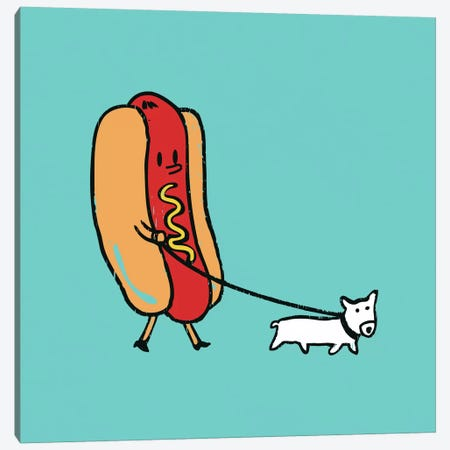 Double Dog Canvas Print #13849} by Budi Satria Kwan Canvas Artwork