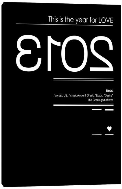 Eros Canvas Art Print
