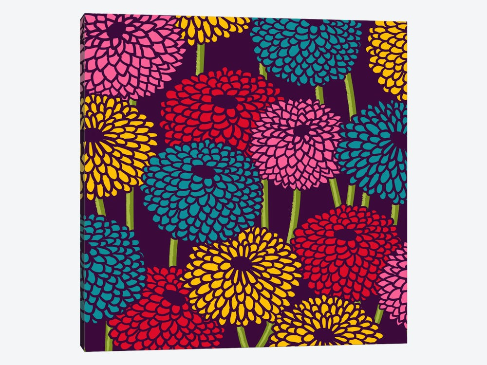 Flower Field by Budi Satria Kwan 1-piece Canvas Art