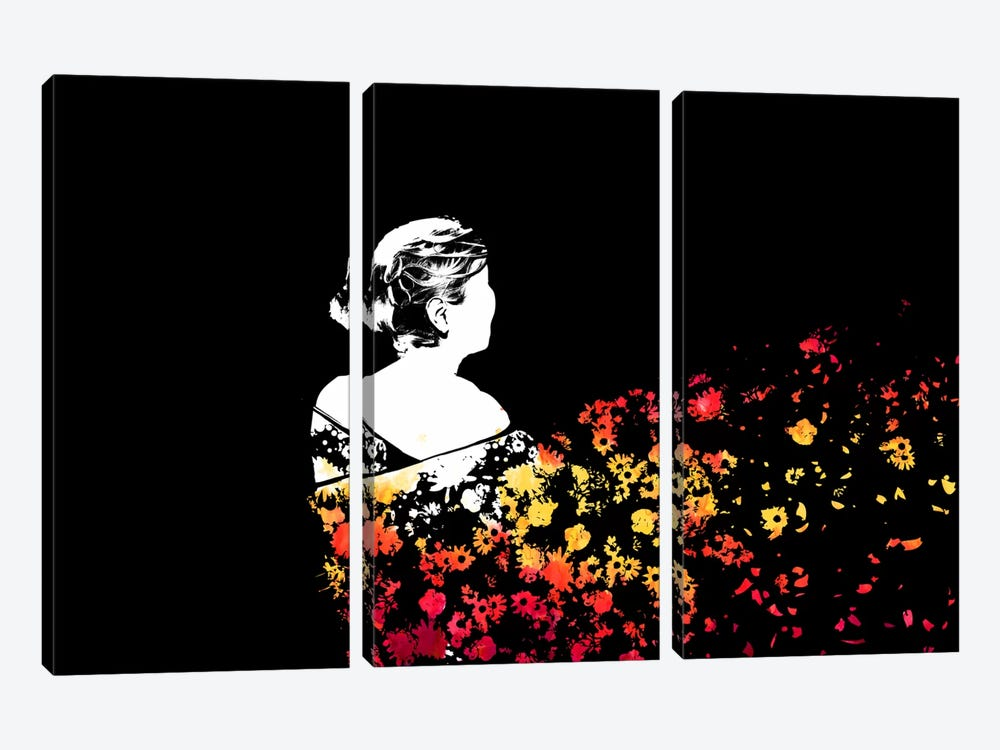 Gone With The Wind by Budi Satria Kwan 3-piece Canvas Artwork