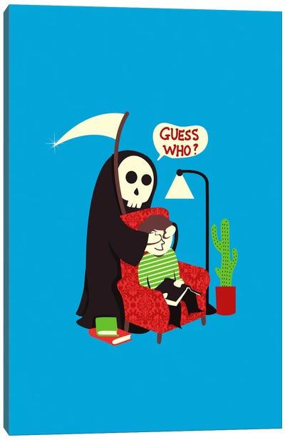 Guess Who Canvas Art Print