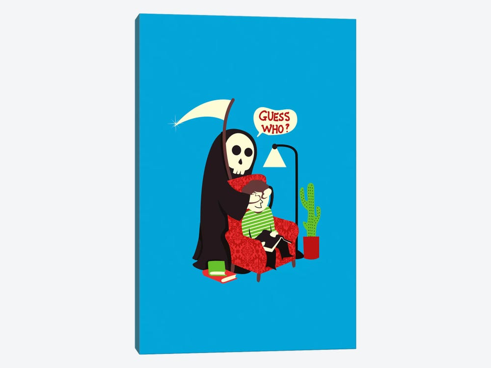 Guess Who by Budi Satria Kwan 1-piece Canvas Art Print