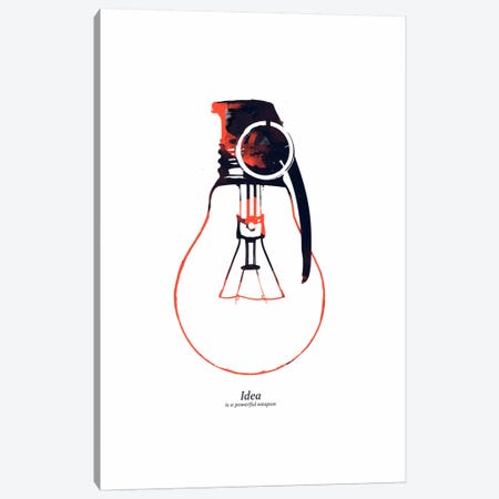 Idea Is A Powerful Weapon Canvas Print #13858} by Budi Satria Kwan Canvas Print
