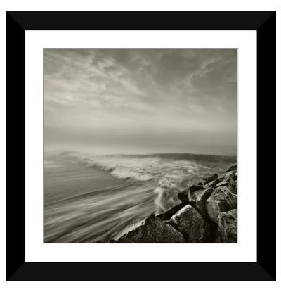 Swells Framed Art Print