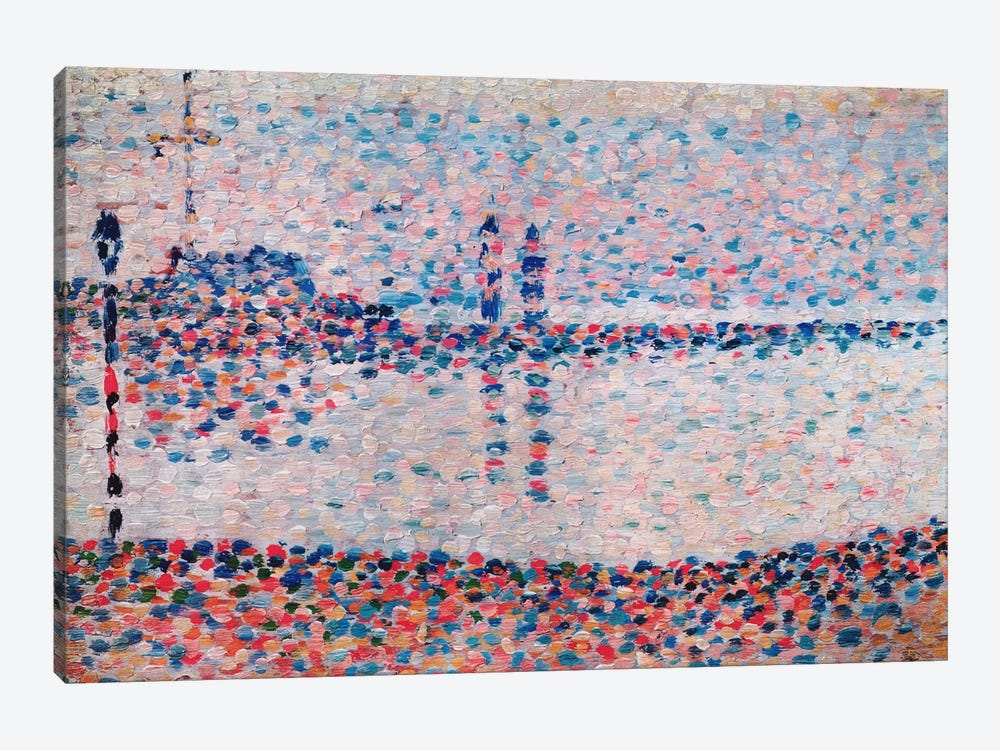 Study For The Channel At Gravelines by Georges Seurat 1-piece Art Print