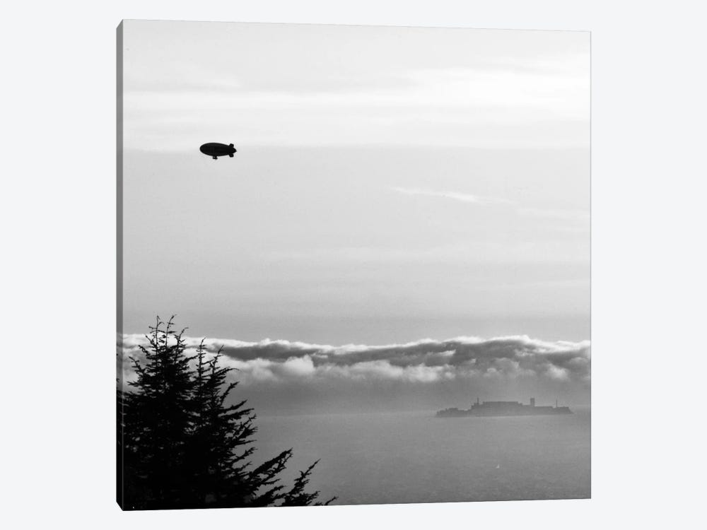 Escape from Alcatraz by Geoffrey Ansel Agrons 1-piece Canvas Print