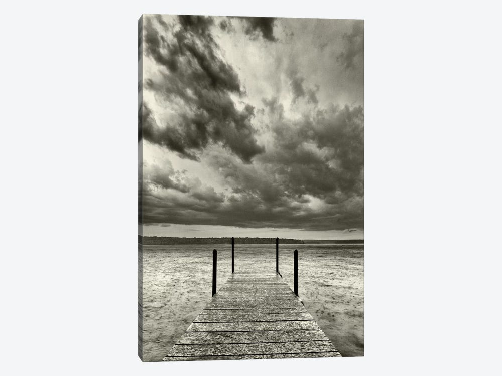 First Droplets Monochrome by Geoffrey Ansel Agrons 1-piece Canvas Artwork