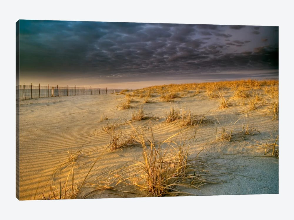 Poverty Beach by Geoffrey Ansel Agrons 1-piece Canvas Wall Art
