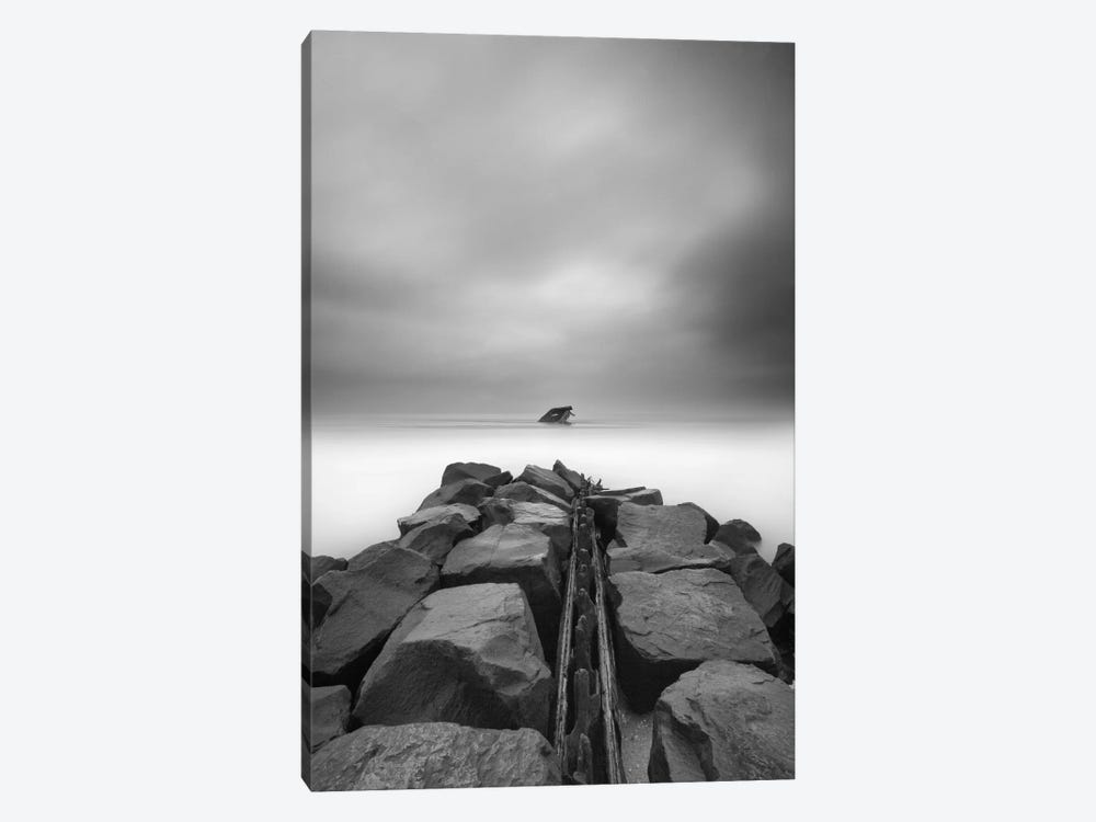 The Wreck of the Atlantus by Geoffrey Ansel Agrons 1-piece Canvas Print