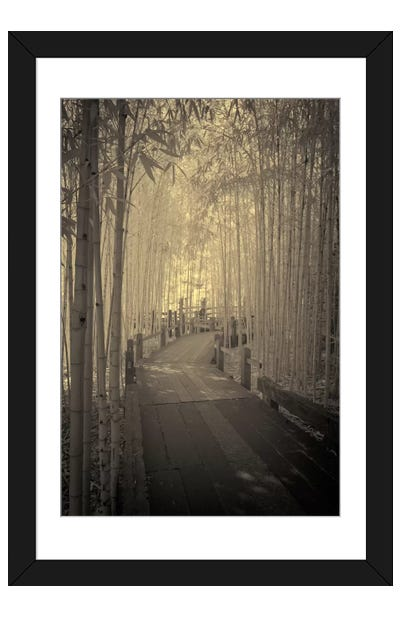 All to myself Alone Framed Art Print