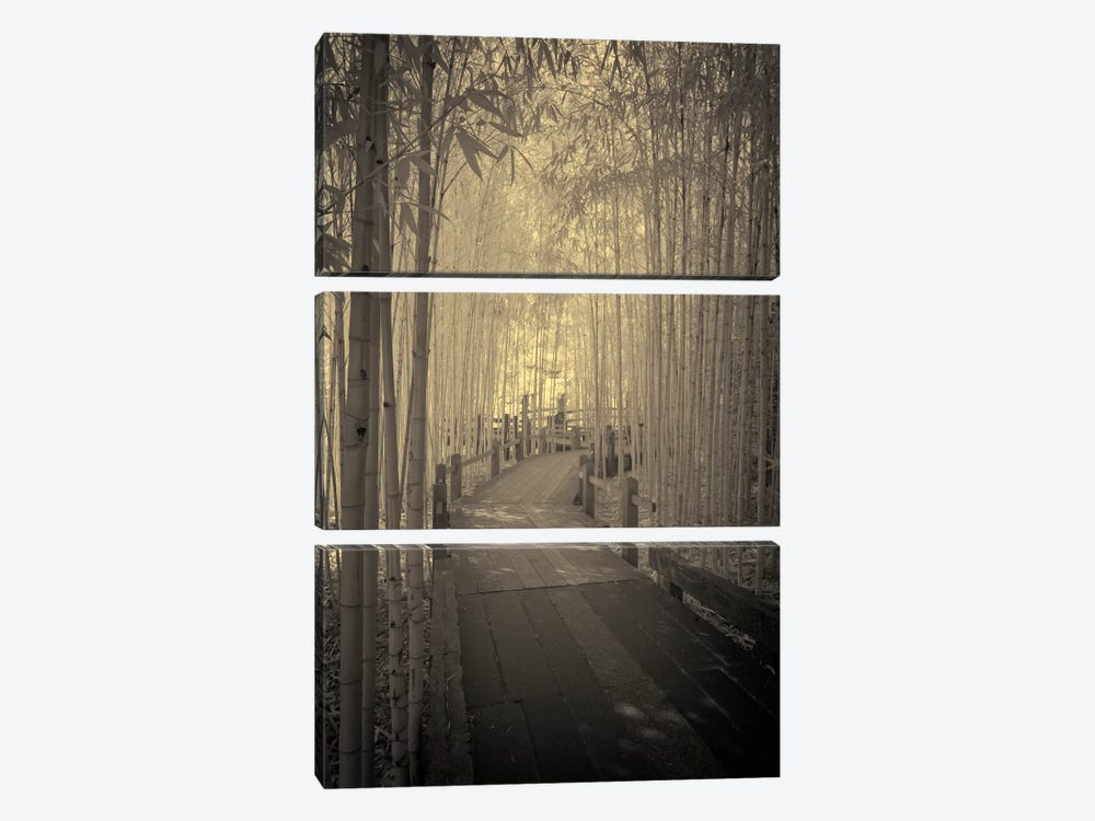 All to myself Alone by Geoffrey Ansel Agrons 3-piece Canvas Wall Art