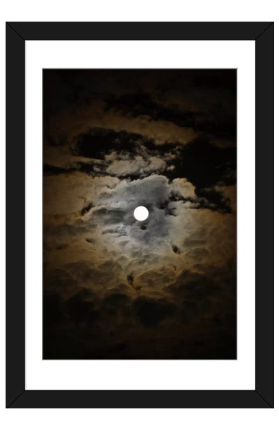 Accretion Framed Art Print