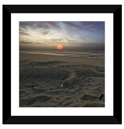How it ends Framed Art Print