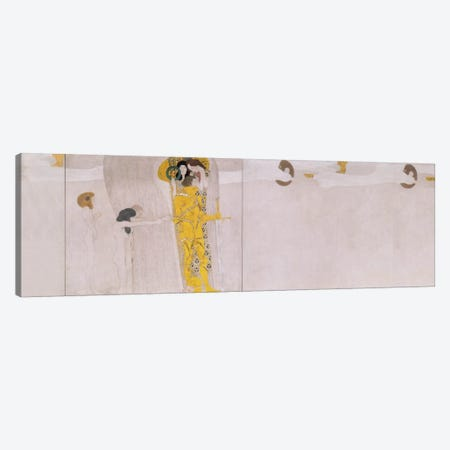 The Beethoven Frieze (The Hostile Forces) Canvas Print #14005} by Gustav Klimt Canvas Art
