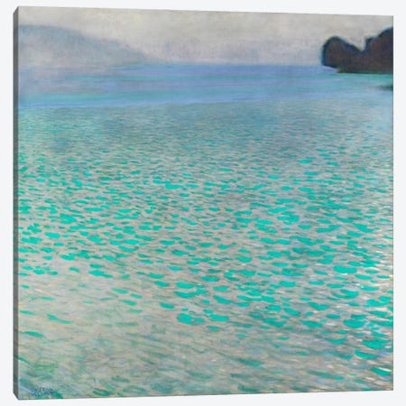 Attersee (Lake Attersee) Canvas Print #14015} by Gustav Klimt Canvas Art Print